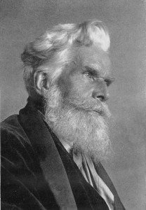 Portrait of Havelock Ellis (1859-1939). Image: Smithsonian Institution (crop)